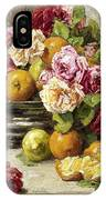 Roses And Fruit IPhone Case