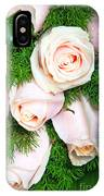 Roses Bouquet IPhone Case