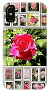 Roses Collage 2 - Painted IPhone Case