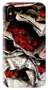 Roses For Sale IPhone Case