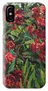 Roses In The Mountains IPhone Case