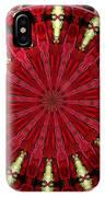 Roses Kaleidoscope Under Glass 11 IPhone Case