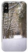 Roth Park Trail 2 IPhone Case