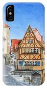 Rothenburg Germany IPhone Case