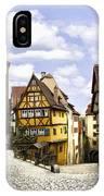 Rothenburg Marketplatz IPhone Case