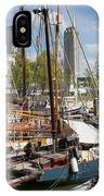 Rotterdam City Marina IPhone Case