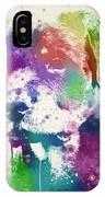Rottweiler Splash IPhone Case
