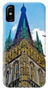 Rouen Church Steeple IPhone Case
