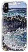 Rough Rocks Near Hana IPhone Case