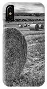 Round Bales IPhone Case