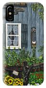 Round Swamp Farm By Alison Tave IPhone Case