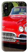 Route 66 - 1961 Corvette IPhone Case