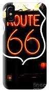 Route 66 2 IPhone Case