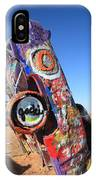 Route 66 Cadillac Ranch IPhone Case