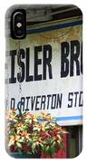 Route 66 - Eisler Brothers Old Riverton Store IPhone Case