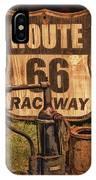 Route 66 Raceway IPhone Case