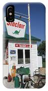 Route 66 - Sinclair Station IPhone Case