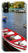 Row Row Row Your Boat IPhone Case