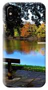 Rowing The River Itchen IPhone Case