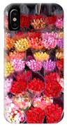 Rows Of Roses IPhone Case
