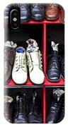 Rows Of Shoes IPhone Case