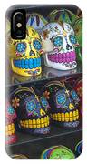 Rows Of Skulls IPhone Case