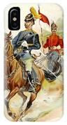Roxbury Horse Guards 1895 IPhone Case