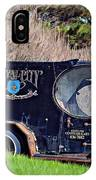 Royal City Paddy Wagon IPhone Case