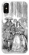 Royal Costume Ball, 1851 IPhone Case