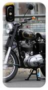 Royal Enfield 2 IPhone Case