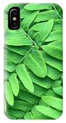 Royal Fern  Frond Detail IPhone Case