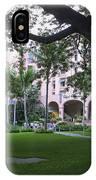 Royal Hawaiian Hotel Entrance IPhone Case