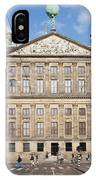 Royal Palace From Raadhuisstraat Street In Amsterdam IPhone Case