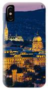 Royal Palace Of Buda In Budapest IPhone Case
