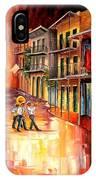 Royal Street Serenade IPhone Case