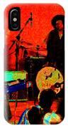 Rrb #50 Crop 2 Enhanced In Cosmicolors IPhone Case