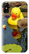 Rubber Duckies  IPhone Case