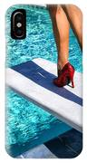Ruby Heels Ready For Take-off Palm Springs IPhone Case