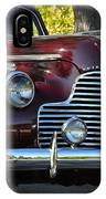 Ruby Red Buick IPhone Case