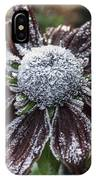 Rudbeckia First Frost IPhone Case