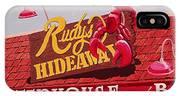 Rudy's Hideaway IPhone Case