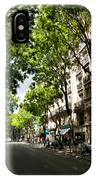 Rue Caulaincourt Montmartre IPhone Case