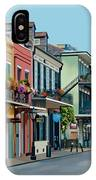 Rue Domaine New Orleans IPhone Case