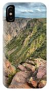 Rugged Edge Of The Canyon IPhone Case