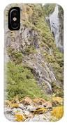 Rugged Mountain Wilderness Vegetation IPhone Case