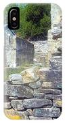 Ruins At Cosley Mill IPhone Case