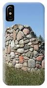 Ruins Of A Stone Silo IPhone Case