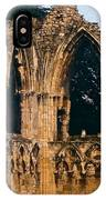Ruins Of St. Mary's Abbey IPhone Case