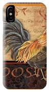 Ruler Of The Roost-1 IPhone Case