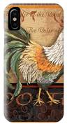 Ruler Of The Roost-3 IPhone Case